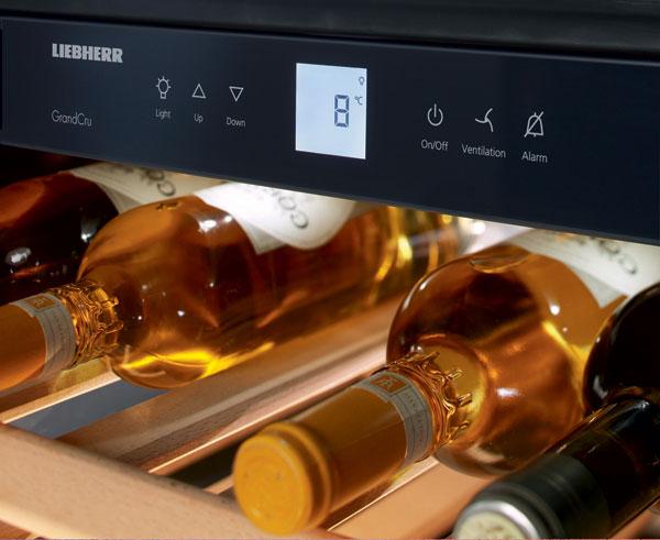 liebherr wkees 553 grandcru wine. Black Bedroom Furniture Sets. Home Design Ideas